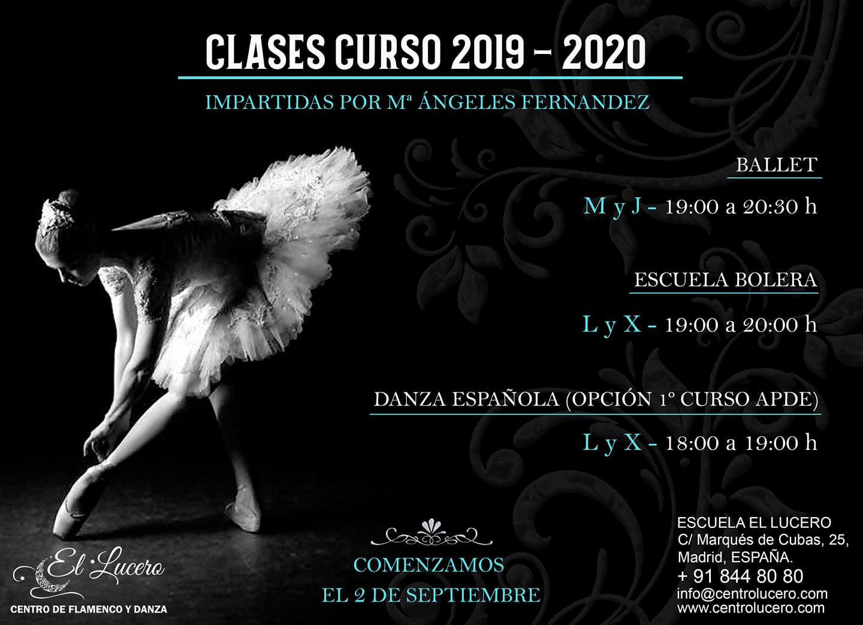Escuela El Lucero Madrid - 2019/2020