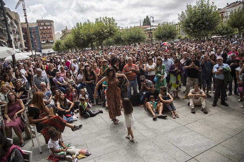 Flamenco on Fire en la calle
