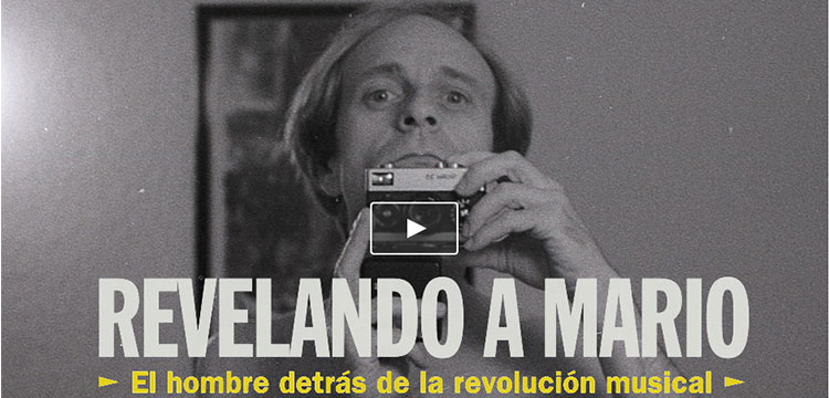 """Revelando a Mario"", documental entorno a Mario Pacheco"