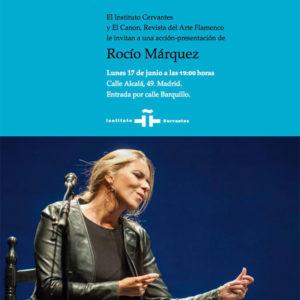 Presentación CANON Rocío Márquez