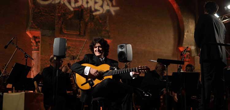 Cañizares y José María Gallardo en el Festival de la Guitarra de Córdoba