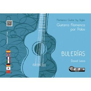 Guitarra flamenca por palos. Bulerías – David Leiva (Libro+DVD/CD)