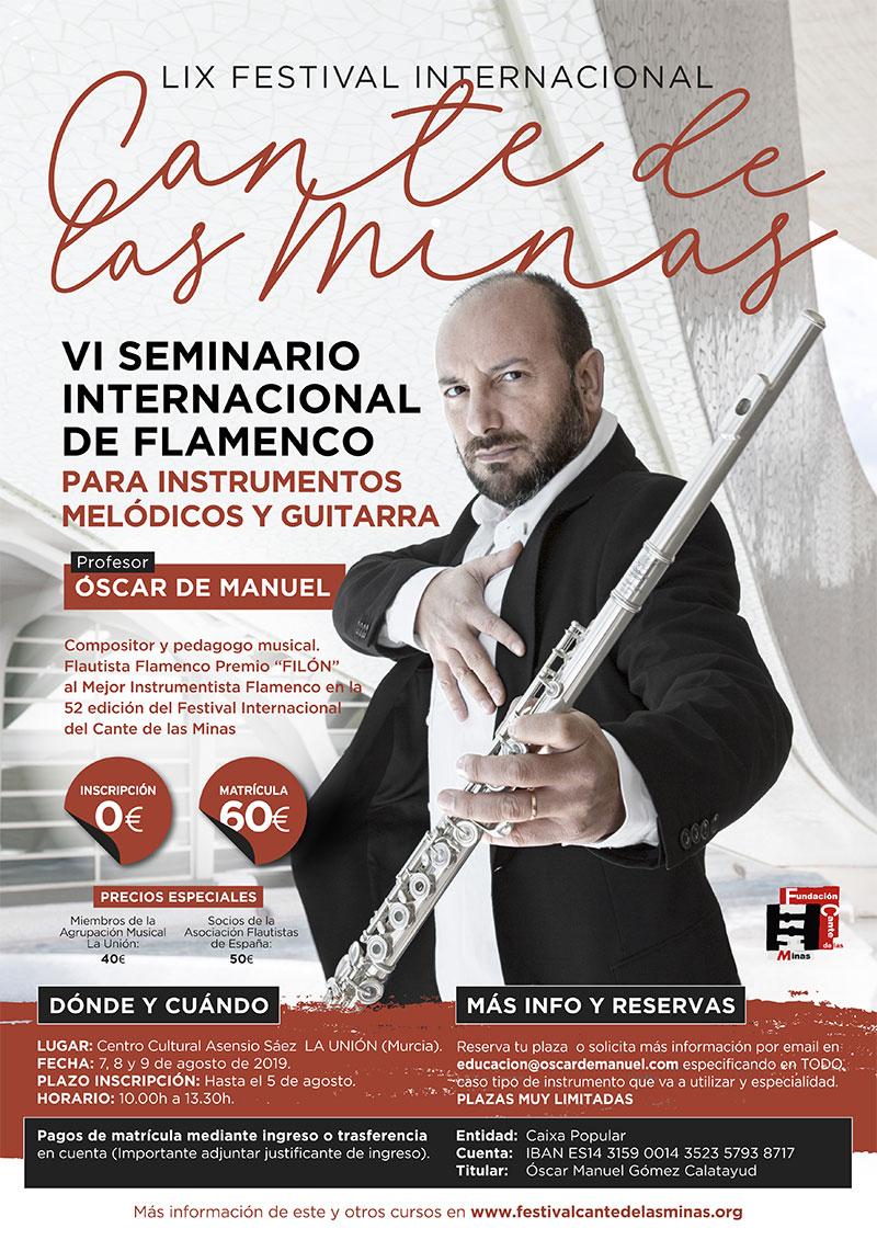 Programa formativo - Festival Internacional Cante de las Minas 2019