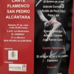Festival de Cante Flamenco San Pedro de Alcántara