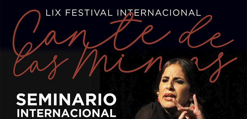 Programa formativo – Festival Internacional Cante de las Minas 2019