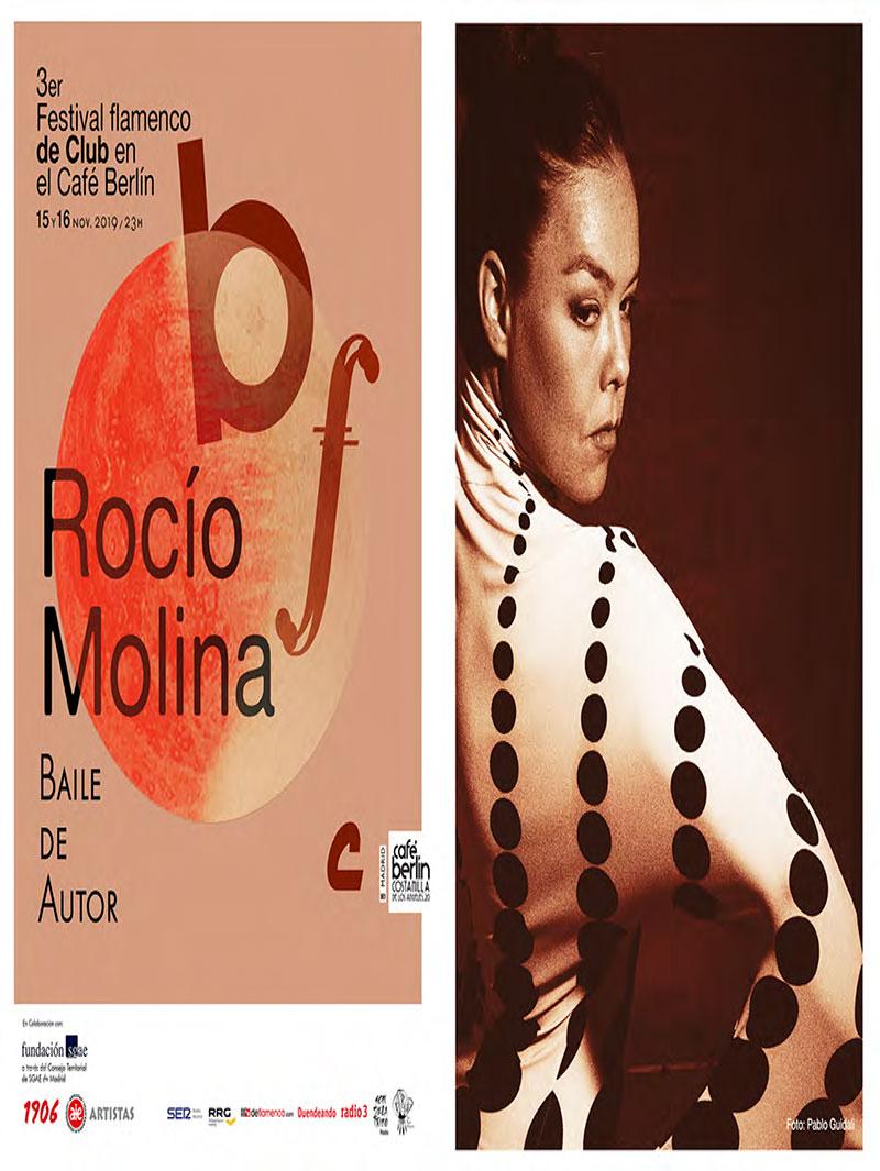 Rocío Molina - Flamenco de Club - Café Berlín