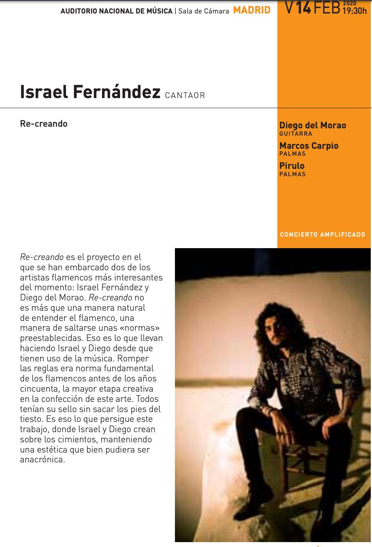 Israel Fernández - Auditorio Nacional