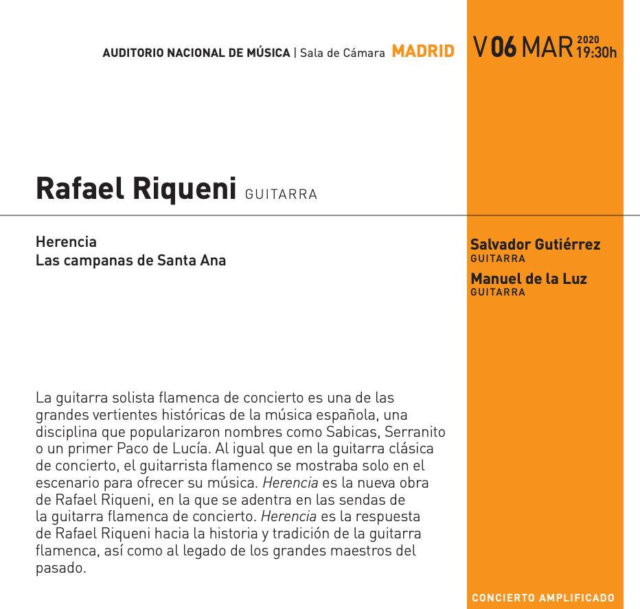 Rafael Riqueni - Andalucía flamenca