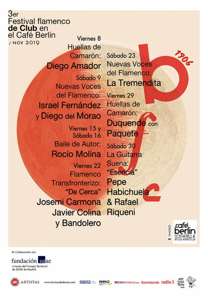 Festival Flamenco Café Berlín 2019