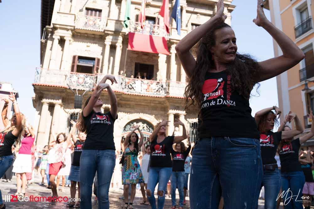 Flashmob - Flamenco on Fire