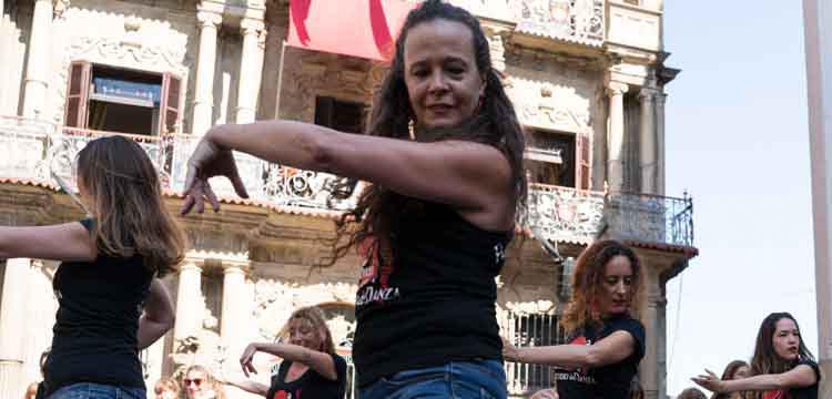 Flashmob en Flamenco on Fire (video)