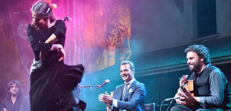 Jesús Méndez deslumbra en el III Estival Flamenco Cádiz