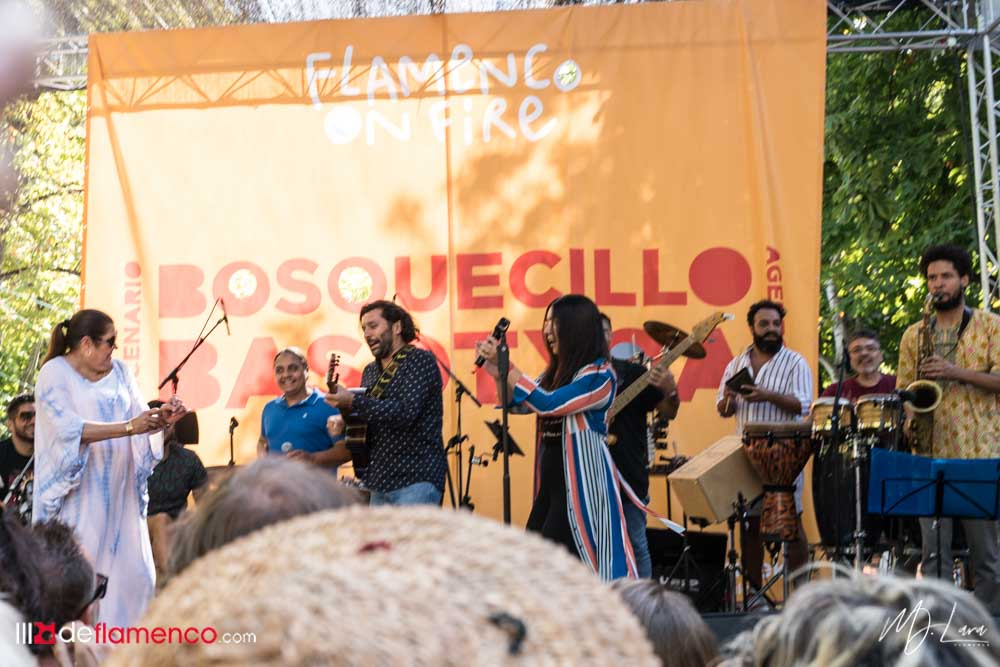 La banda de Ketama - Bosquecillo - Flamenco on Fire