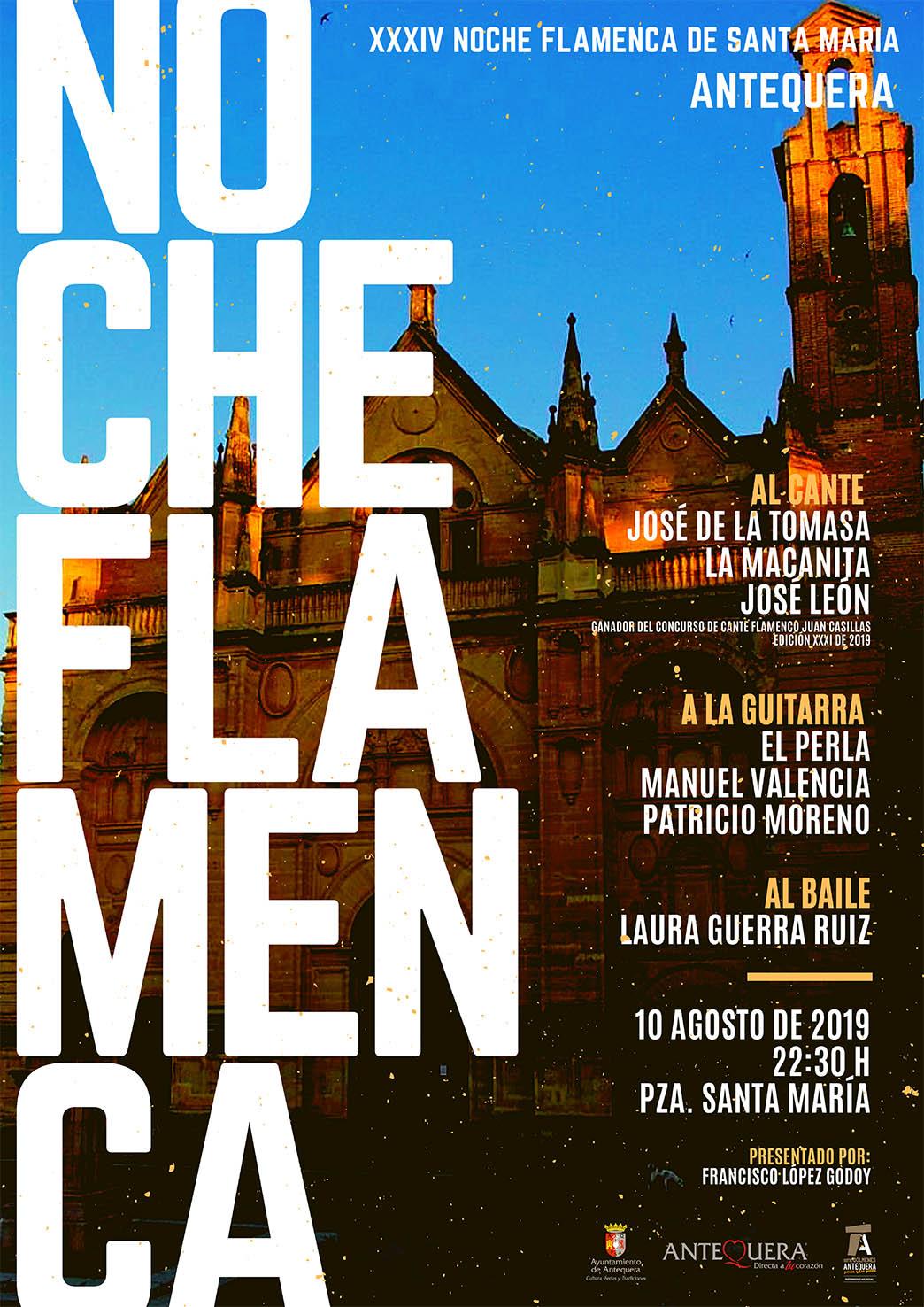 Noche Flamenca Santa María - Antequera