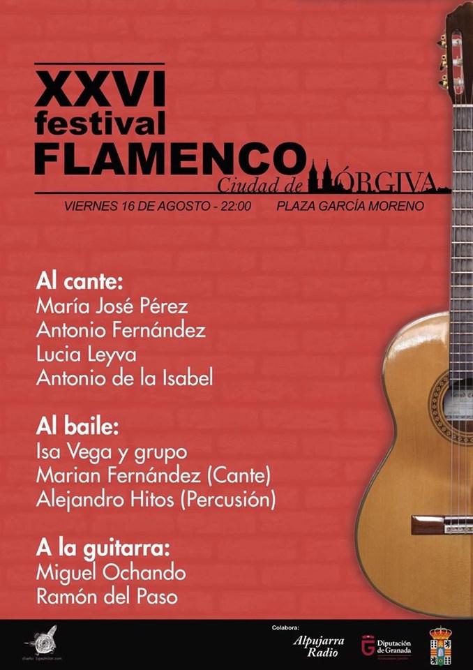 Festival Flamenco de Orgíva - Granada