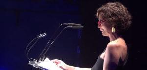Aída Gómez, pregón Cante de las Minas