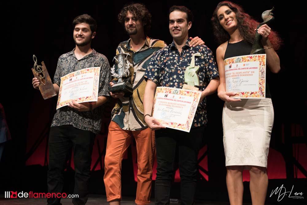 Premiados Cante de las Minas 2019