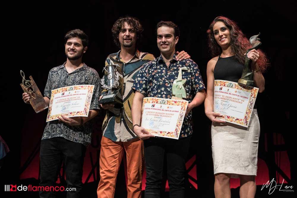Ganadores Cante de las Minas 2019