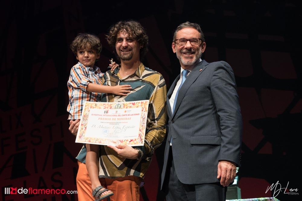 Matías López el Mati - Premio Mineras