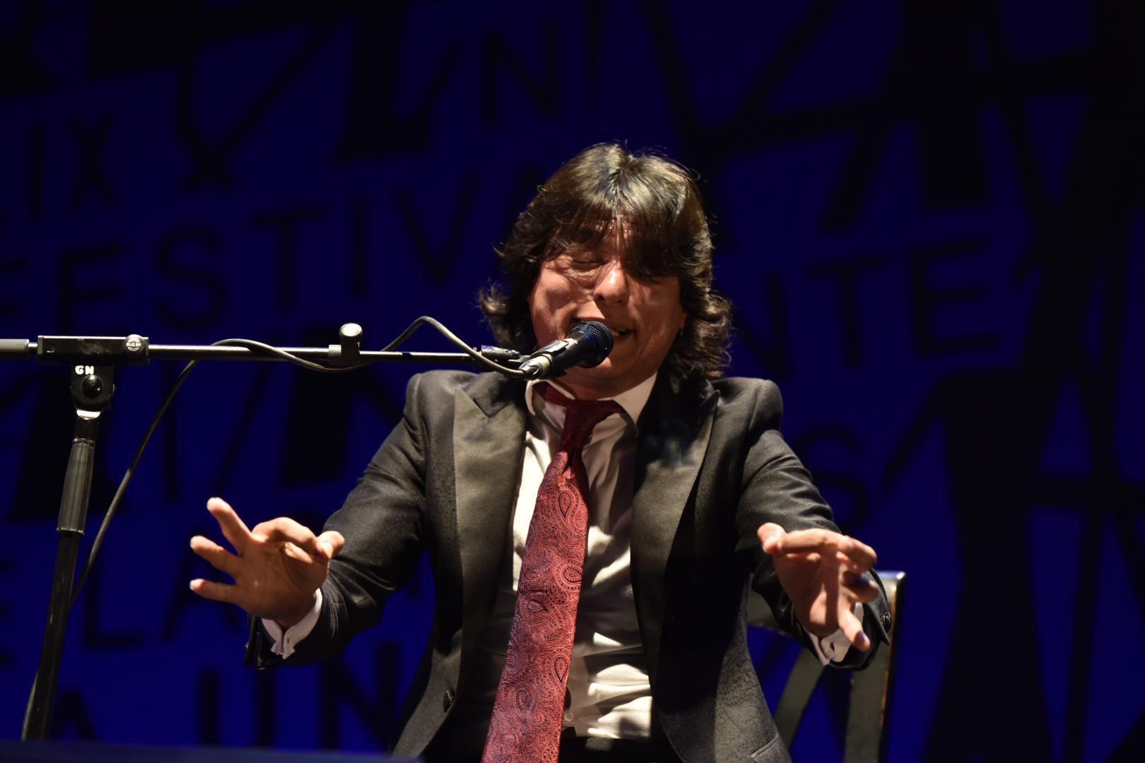 Samuel Serrano en el Cante de las Minas
