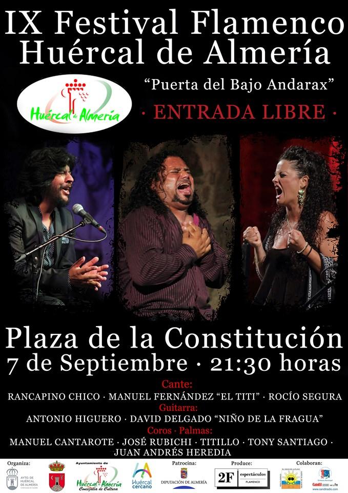 Festival Flamenco Huercal de Almería