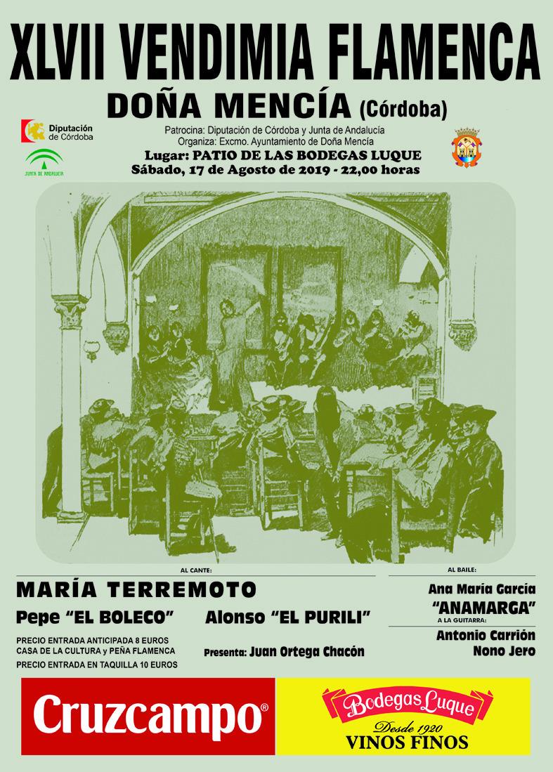 Vendimia Flamenca - Doña Mencía