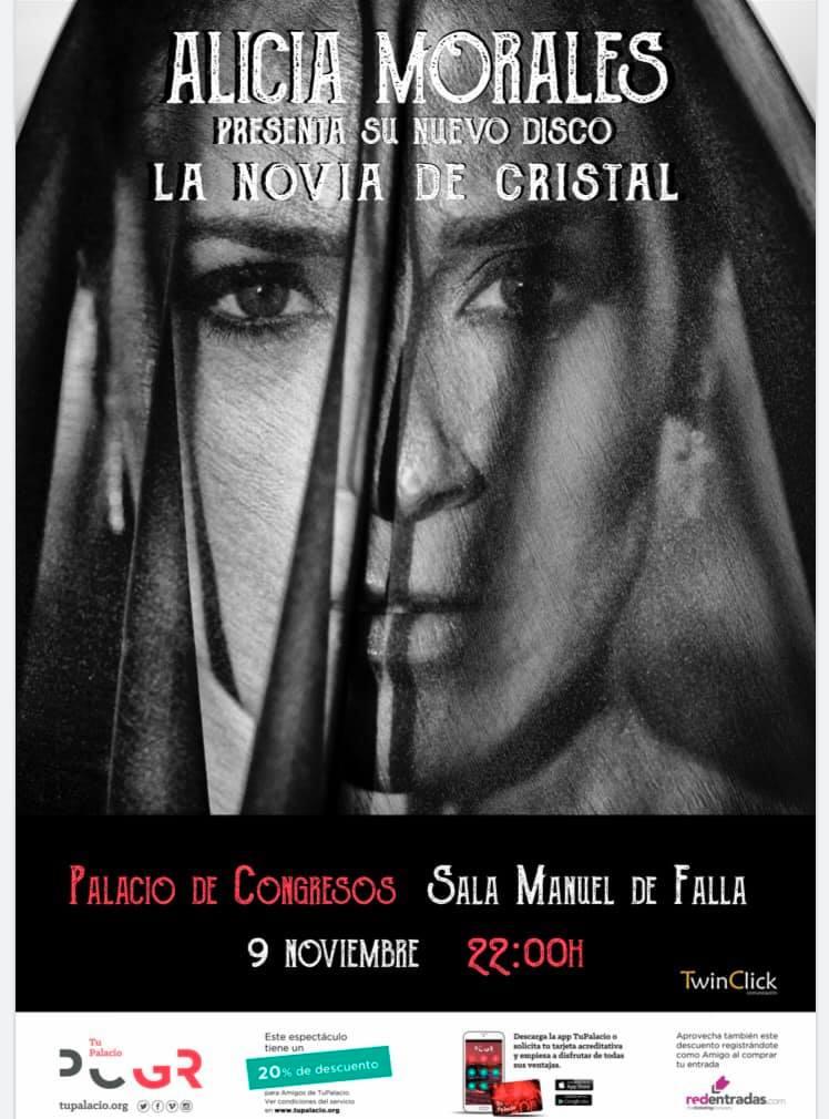 Alicia Morales La novia de cristal - en Granada