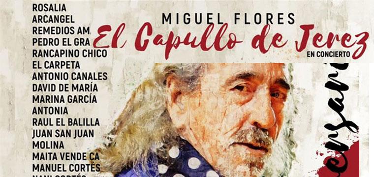 Entradas agotadas para el concierto 50 aniversario de 'El Capullo de Jerez'