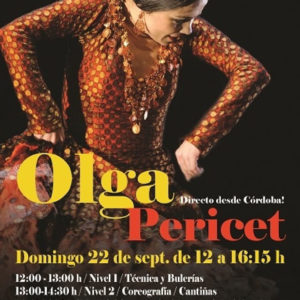 Olga Pericet en Hollywood