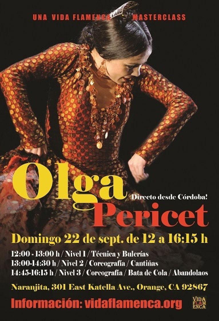 Olga Pericet en Hollywood