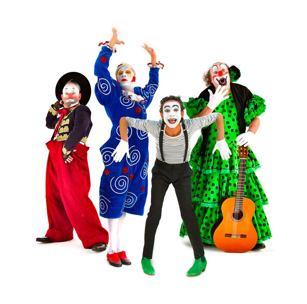 Chufla, flamenco y clown