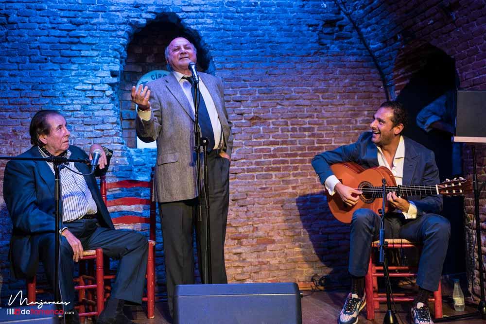 Antonio el Marsellés, Rancapino, Enrique Pantoja & Diego del Morao. Videos & fotos