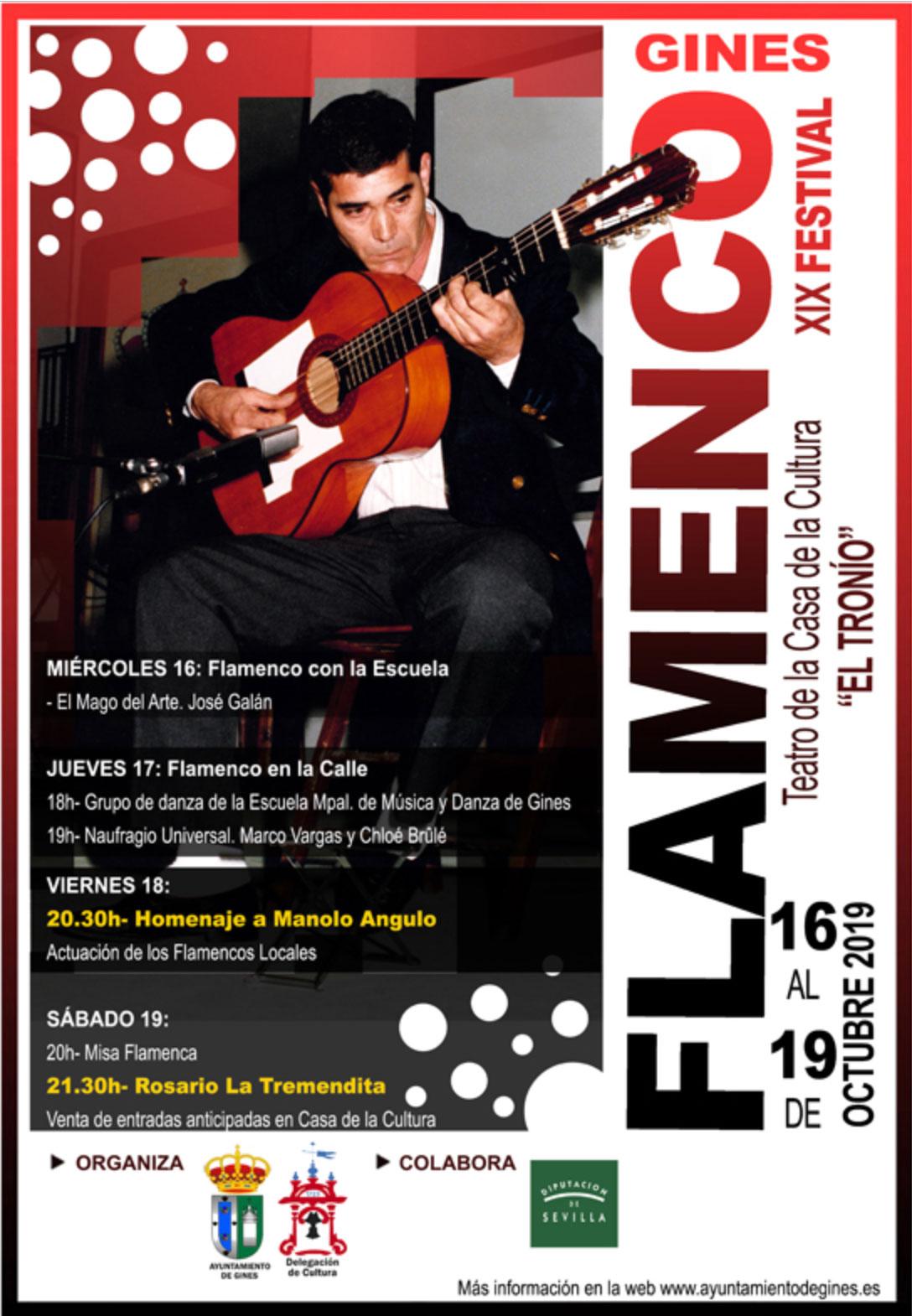 Festival Flamenco de Ginés