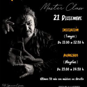 Masterclass Antonio Canales