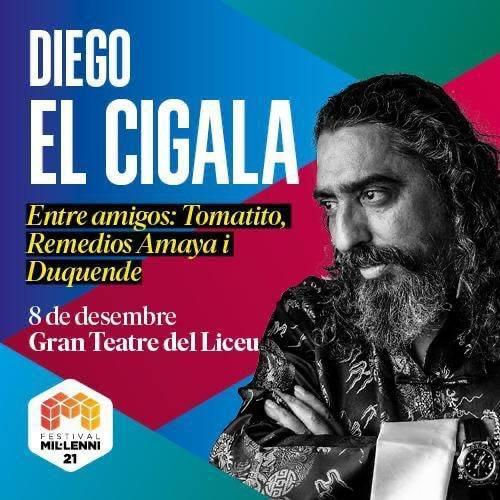 Diego el Cigala Festival Milleni