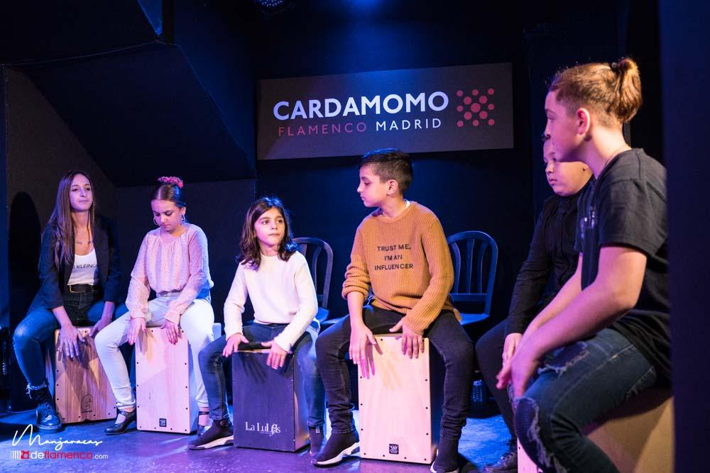 Percusión flamenca. Becas Cardamomo