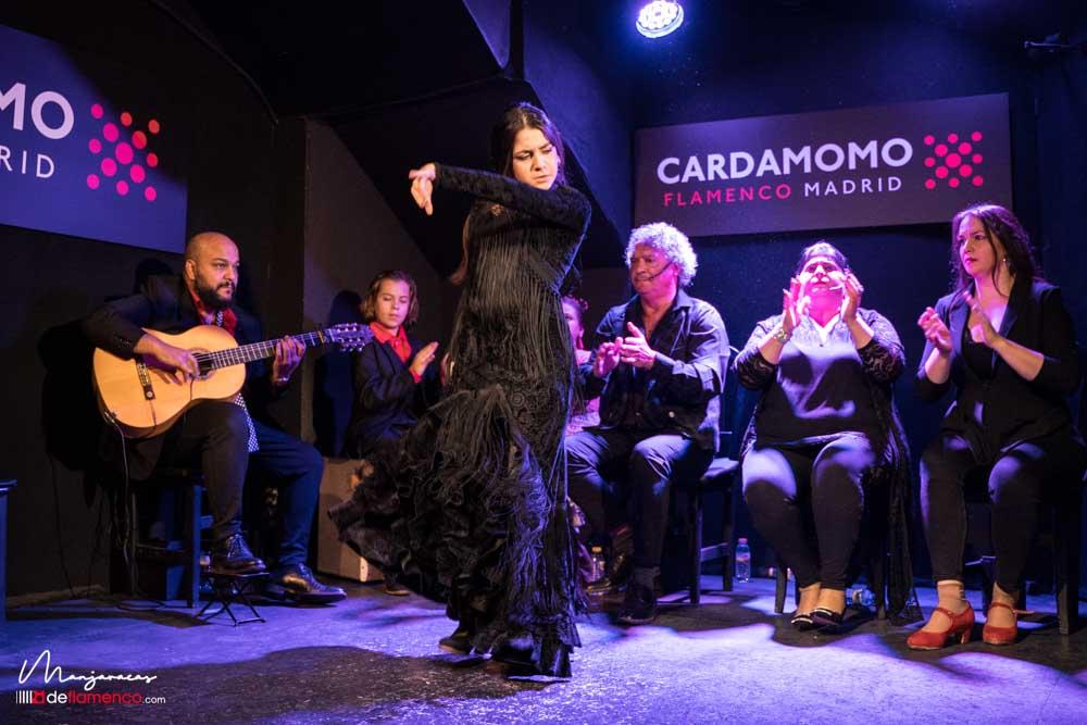 Claudia La Utrerana - Becas Cardamomo