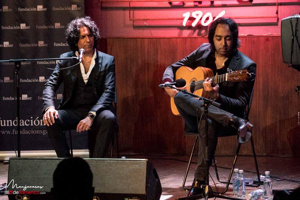 Diego Amador & Carlos de Jacoba en el Café Berlín