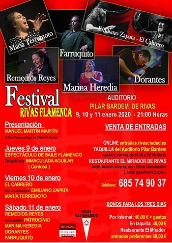 Festival Rivas Flamenca