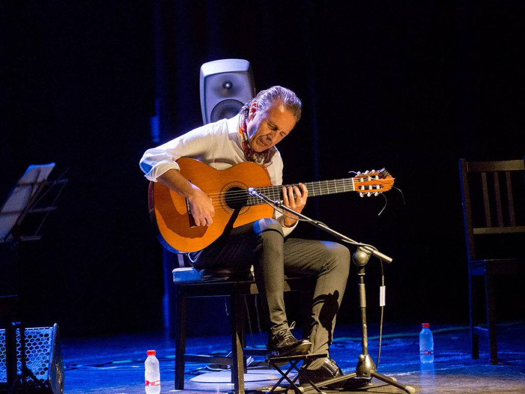Juan Carlos Romero - Jueves Flamencos Cajasol - foto: Remedios Malvarez
