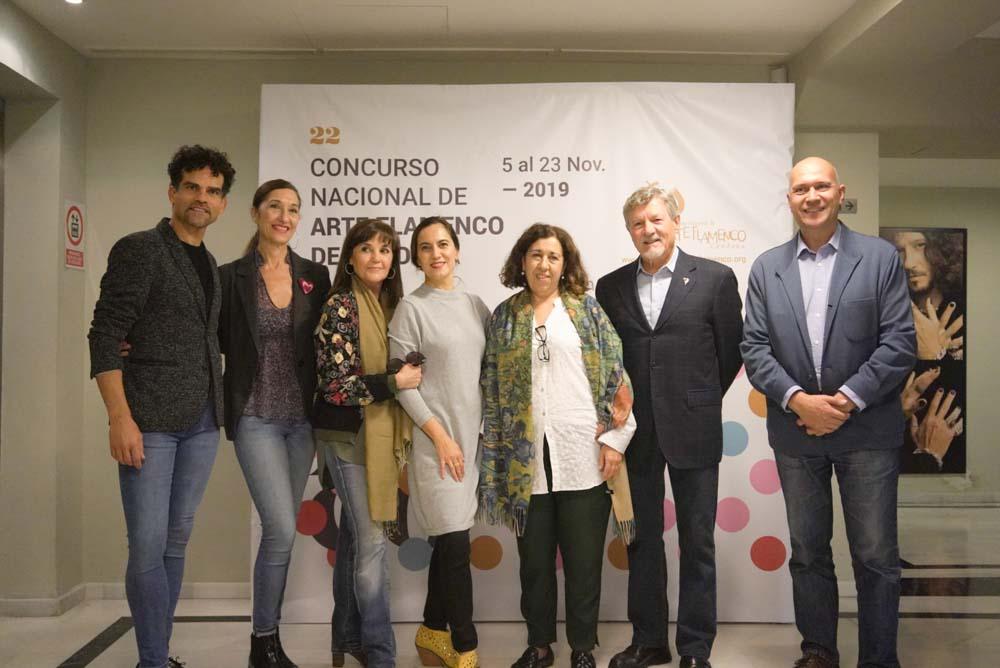 Concurso Nacional de Arte Flamenco de Córdoba 2019 – Participantes baile flamenco