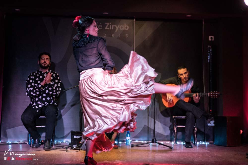 Lucía Ruibal en Café Ziryab