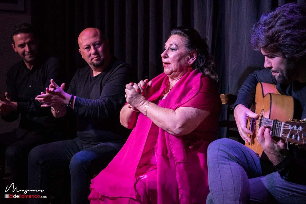 María Vargas en la Sala García Lorca