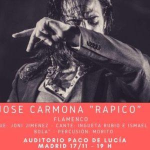 José Carmona 'Rapico' en Aluche