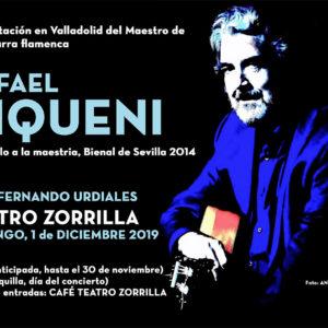 Rafael Riqueni Teatro Zorrilla Valladolid