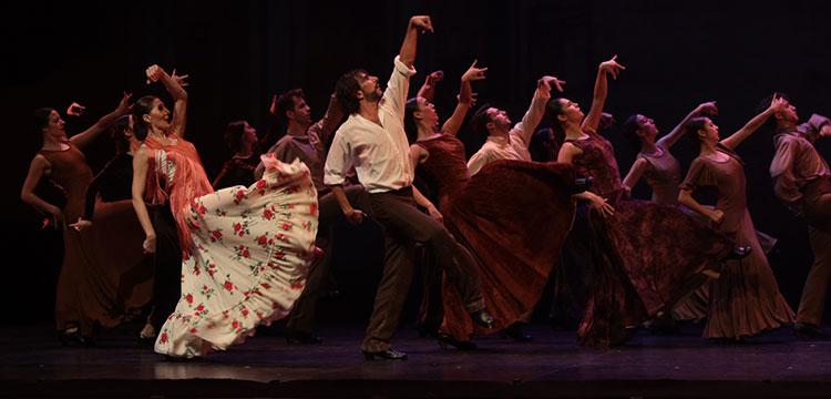 El retrato de Andalucía, en piezas de baile