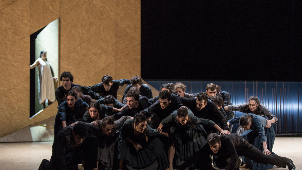 El Ballet Nacional de España comienza la temporada en el Teatro Circo Murcia con una versión de Electra de ecos lorquianos