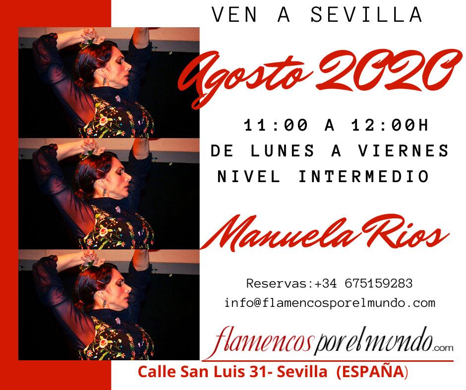 Manuela Rios - flamencos por el mundo