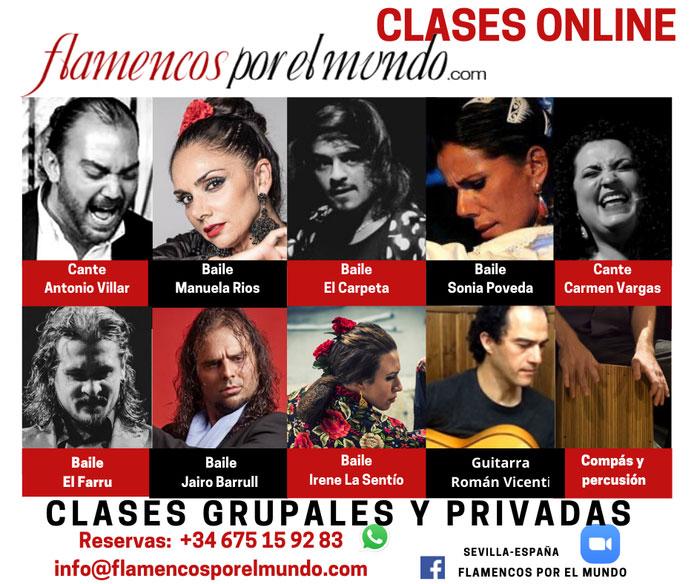 Flamencos por el mundo - online