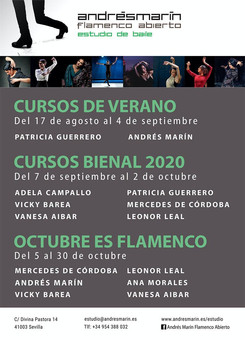 Cursos intensivos - Andrés Marín - La Bienal